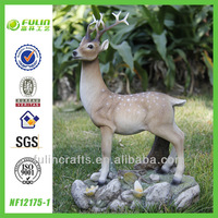 Yard Deer Life Size Resin Animal