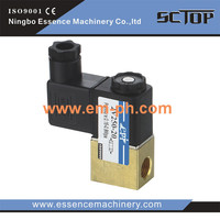 4V310-08 DC12V DC24V air solenoid valve miniature high quality shut off solenoid 4V310-08 DC12V DC24V air solenoid valve
