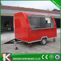 Hot selling food cart/electric food truck/kiosk fast food with CE