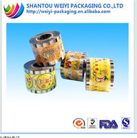 All kinds of size jelly sealing film for cup