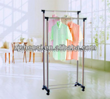 Double Clothes Drying Rack Folding Indoor Clothes Dryer Stand TM-322