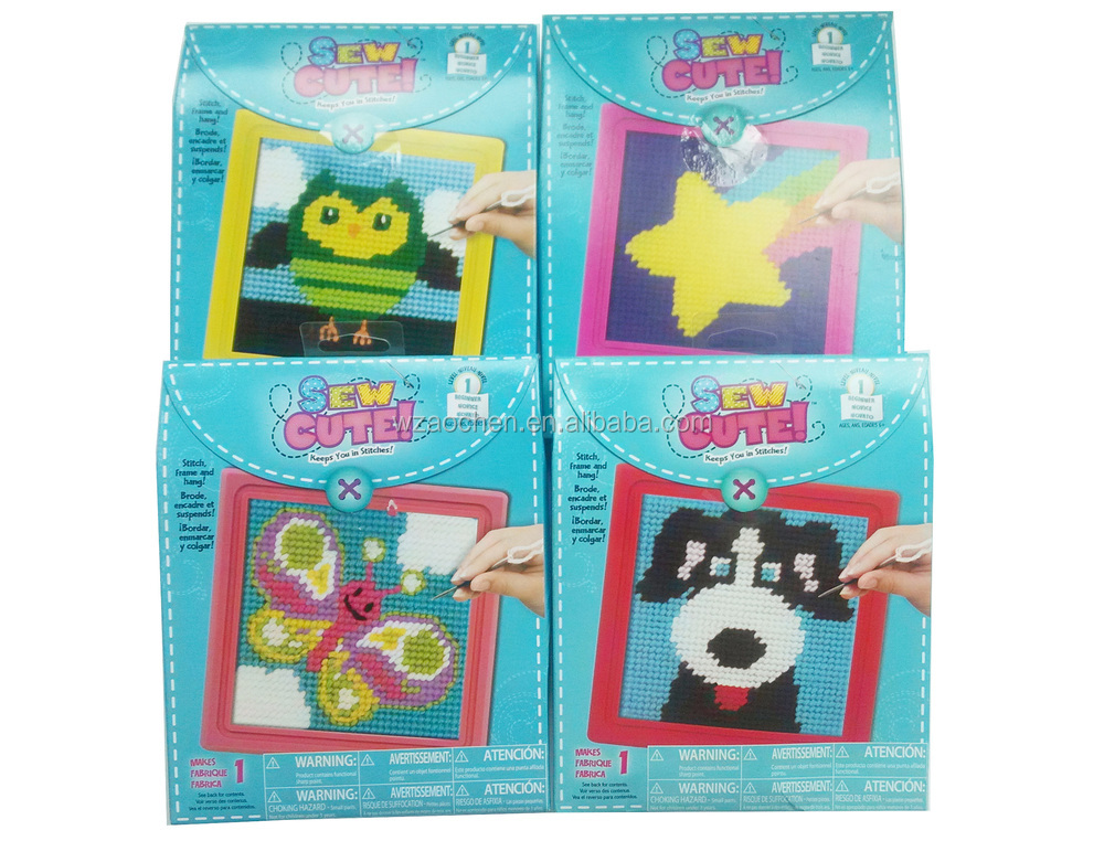 Beauty kids craft kits wholesale hand made woolen for Craft kits for kids in bulk