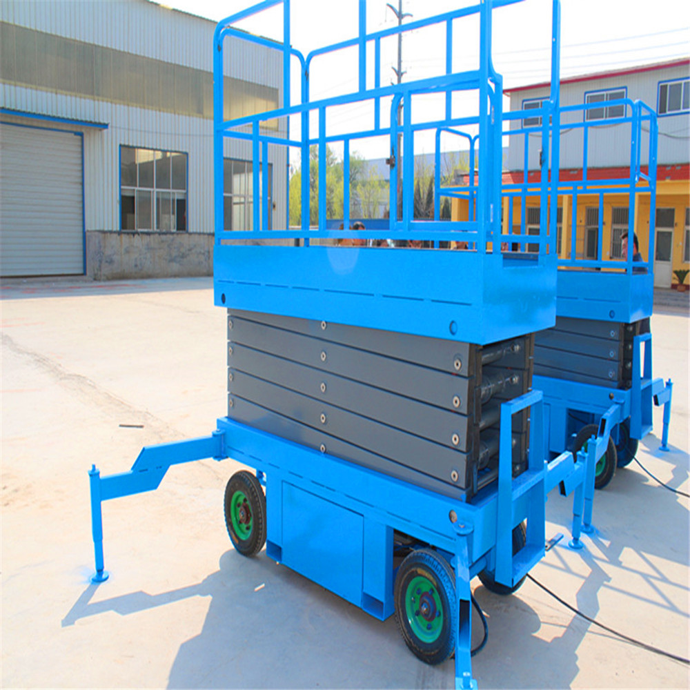 China low price construction platform of mobile scissor lift