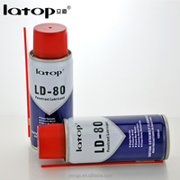 200ml Rust prevent rust remover chemical spray lubricant LD 80 China supplier
