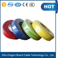 Low voltage 450 / 750V PVC insulated copper cables and wires