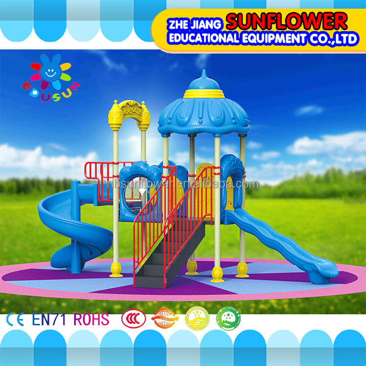 Outdoor play area cool plastic playground four small sets gardens play ground equipment