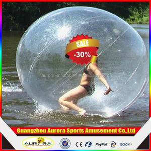 Water sports ball Customized inflatable water games human hamster ball for sale