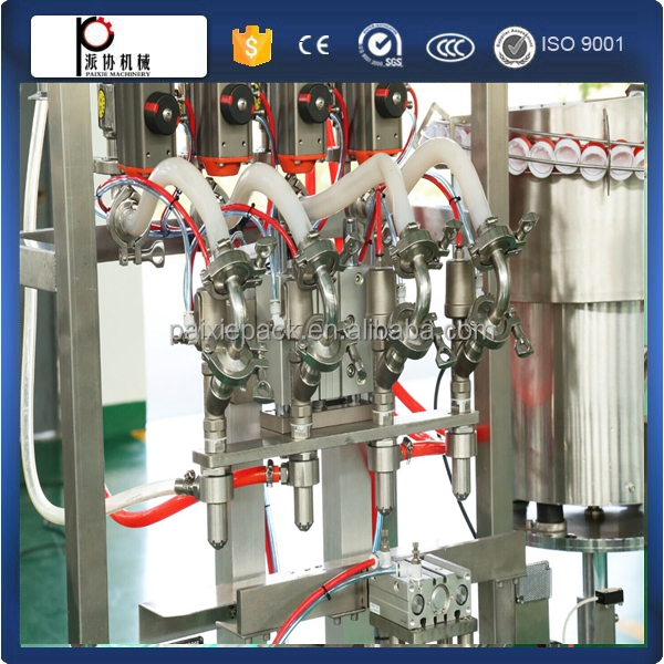 Servo motor automatic olive oil filling machine bottle filling machine price over 10 years experience in Shanghai