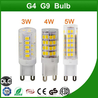 G9 LED Bulb Lamp 75 SMD 2835 AC220V 110V 5W Cold white Warm white High efficiency led lights ceramics Led spotlight