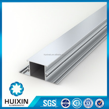 Powder coated effect casement window frame triangle aluminum extrusion profile
