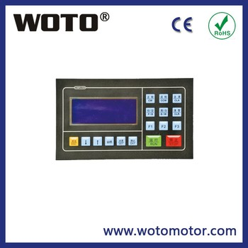 Stepper motor servo motor position controller for bag for Servo motor position control system