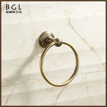 2017 Bathroom Fitting Bathroom Accessories Cheap Wall Mounted Towel hanger Antique Bronze Towel Ring