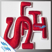 Custom Made Logo Professional Sew On Felt Letter Woven Iron Canvas Patches