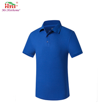 short sleeve latest shirts for men pictures polo collar 100% cotton polo shirt uniforms