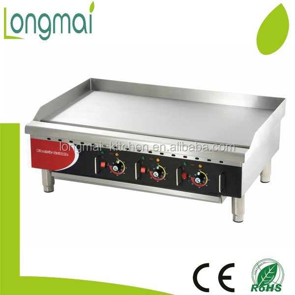 Hot type LEG-36 CE approved USA giant-size electric cast iron griddle