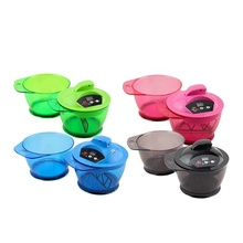 New arrival Hair salon mixing bowl plastic electric hair dyeing bowl professional hair color mixer with timer