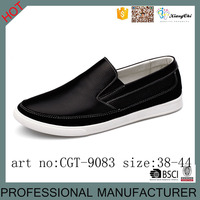 Newest design Best quality leather black formal shoes for men