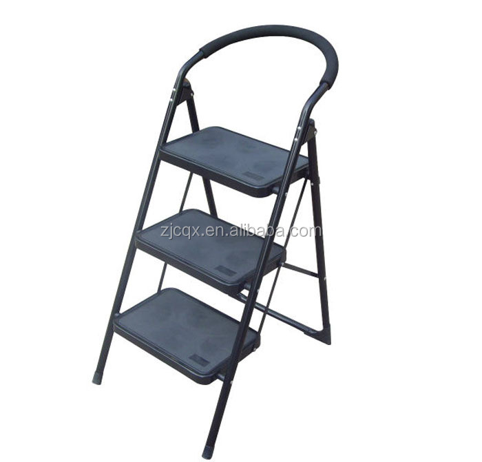 3 step house ladder with EN14183