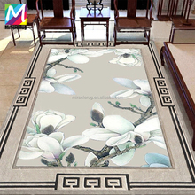Hot Sale Custom Chinese Flower Rug Hand tufted Wool Rug for Living Room Rug
