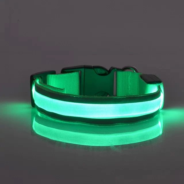 Smart size magnetic led dog collar for Concert Party
