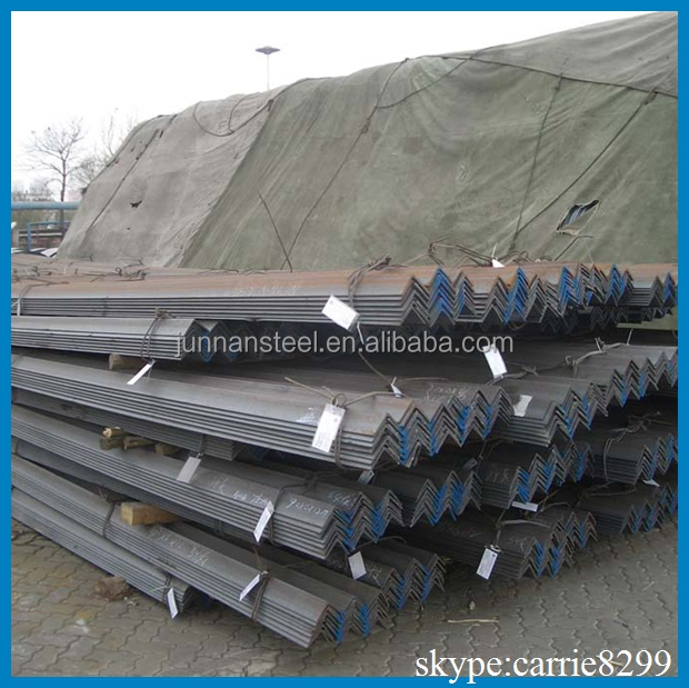 Galvanized 50*5 Equal Mild Steel Angle Bar Joist For Building Engineering Structure