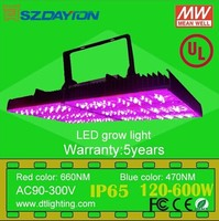 2014 New style Meanwell driver waterproof IP65 120W-600W led grow light with 5w diode