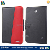 china supplier flip pu wallet leather case for samsung galaxy tab 4 8 inch