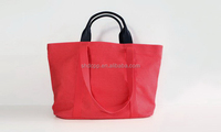 New style antique pvc coated cotton bag