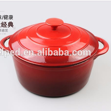 Good selling for non-stick mini enamel cast iron cooking pot