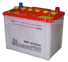 dry charged car battery n50 auto part