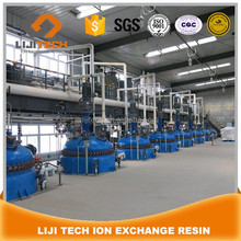 LIJI TECH resin suppliers ion exchange resin factory