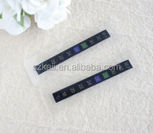 customized color changing sticker temperature in China