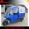Chongqing gasoline small type 250cc motorized cargo adult tricycle