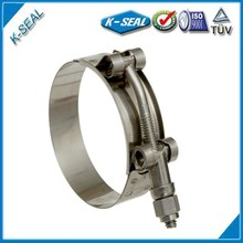 Stainless Steel High Level T Bolt double bar clamps