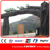 Park Gate Fiberglass Tree Sculpture