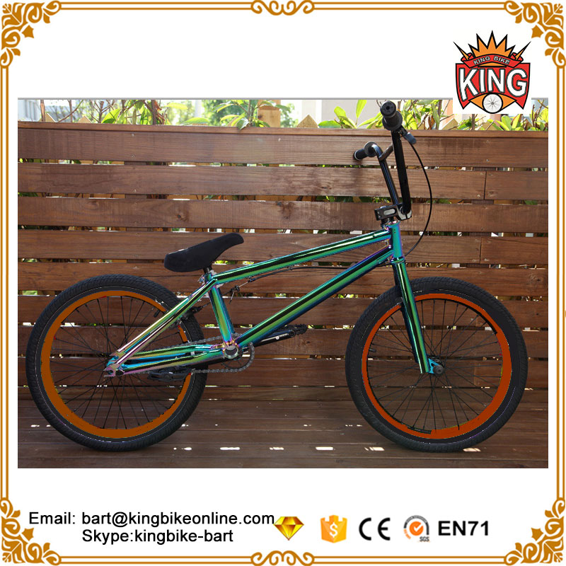 Aluminum hub integrated headset steel frame steel fork super light bmx bikes