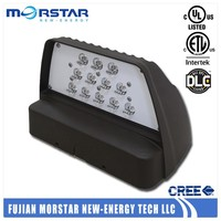 Morstar fixture ul dlc led wall pack light outdoor use