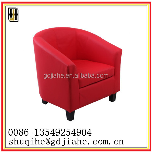 high quality solid wood PVC leather Sofa Bed