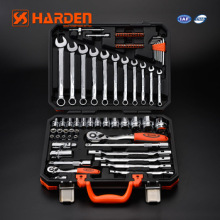"OEM Service Harden Chrome Vanadium Professional 77PCS 1/2"" & 1/4"" DR. Socket Automotive Hand Tool Set"