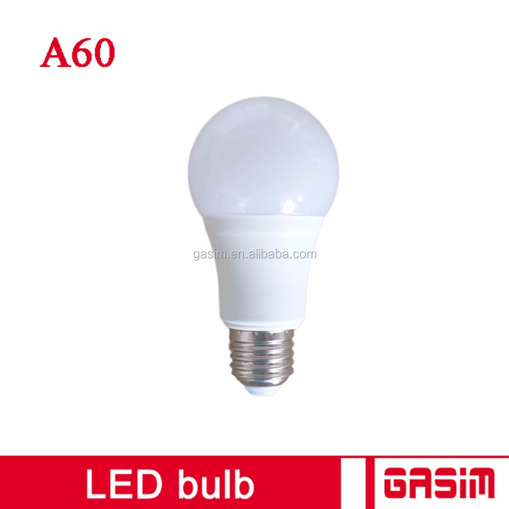 Low cost 7W equivalent e27 led light bulb, led light bulbs wholesale