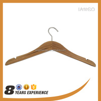 Nicle Hook Maple Wooden Coated Hanger