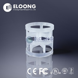 Uniform Mass Transfer Fractional Distillation Gas Liquid Separation Extraction Contact Random Packing Plastic Pall Ring