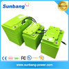 Factory supply high quality 2016 New Type Sealed 12v 45ah car battery lifepo4 battery with BMS protection