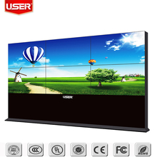 Shenzhen factory price exhibition stylish hd display board wall mounted video lcd panel advertising media led backlight