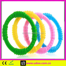 Good selling baby siliconeb baby teether ring