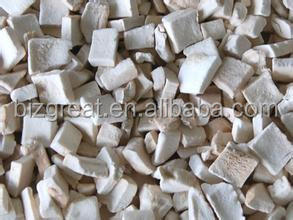 supply Frozen dried mushroom dices with good quality for sale