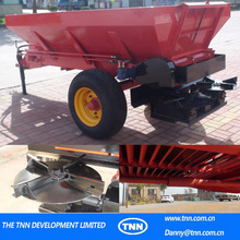 C4- Agricultural tractor Mounted stainless steel heavy duty seeder fertilizer spreader