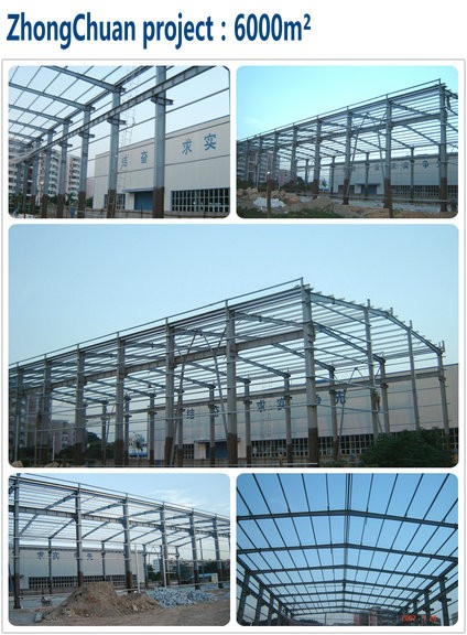 High Quality Prefabricated Steel Structure Badminton Hall Building