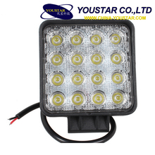 Hot selling 10-30v vehicle lights 48W offroad led driving head light lamp