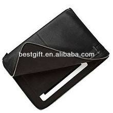 Leather laptop sleeves for macbook pro retina PU/cow leather laptop cases